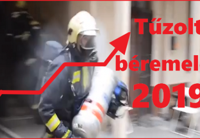 Mennyi lesz a Tűzoltók fizetése 2019-ben?