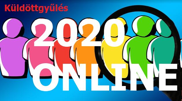 Online Küldöttgyűlés meghirdetése